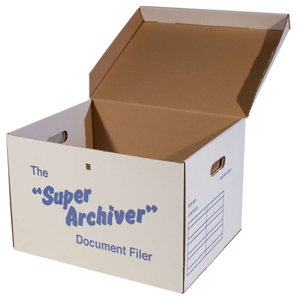 20 Large Archive Box