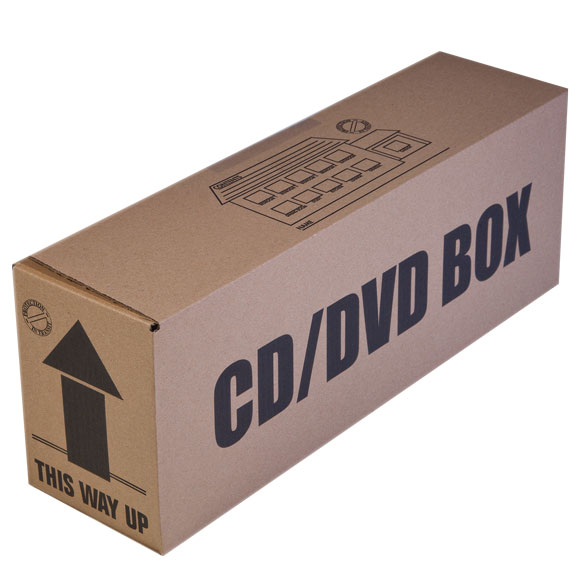 5 x CD/DVD Box