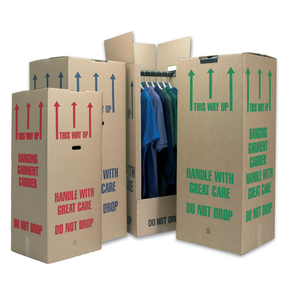 Tall Wardrobe Boxes