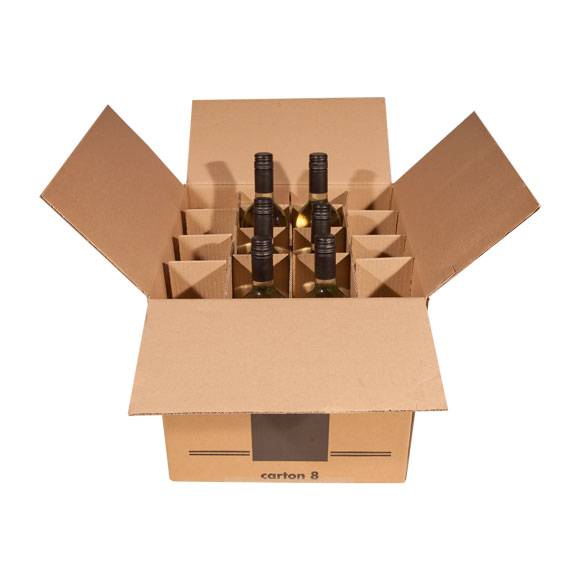 Wine Bottles & Glasses Box (16)