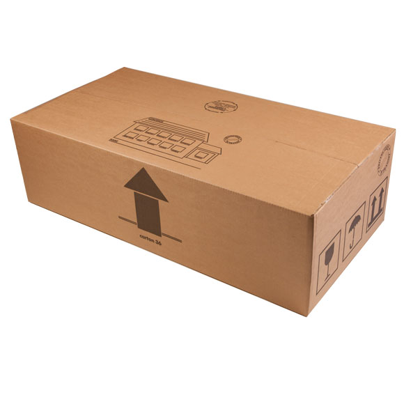 Lay-Flat Packing Box